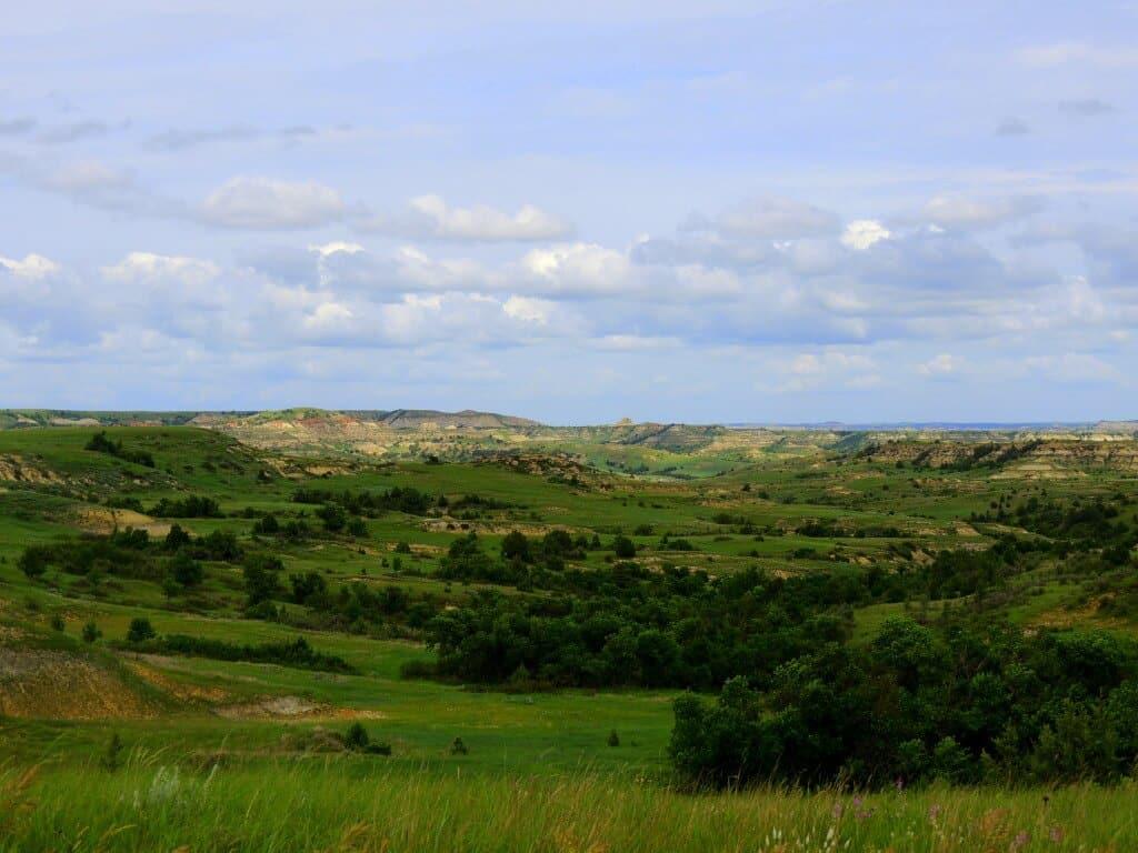 Theodore Roosevelt National Park landscape