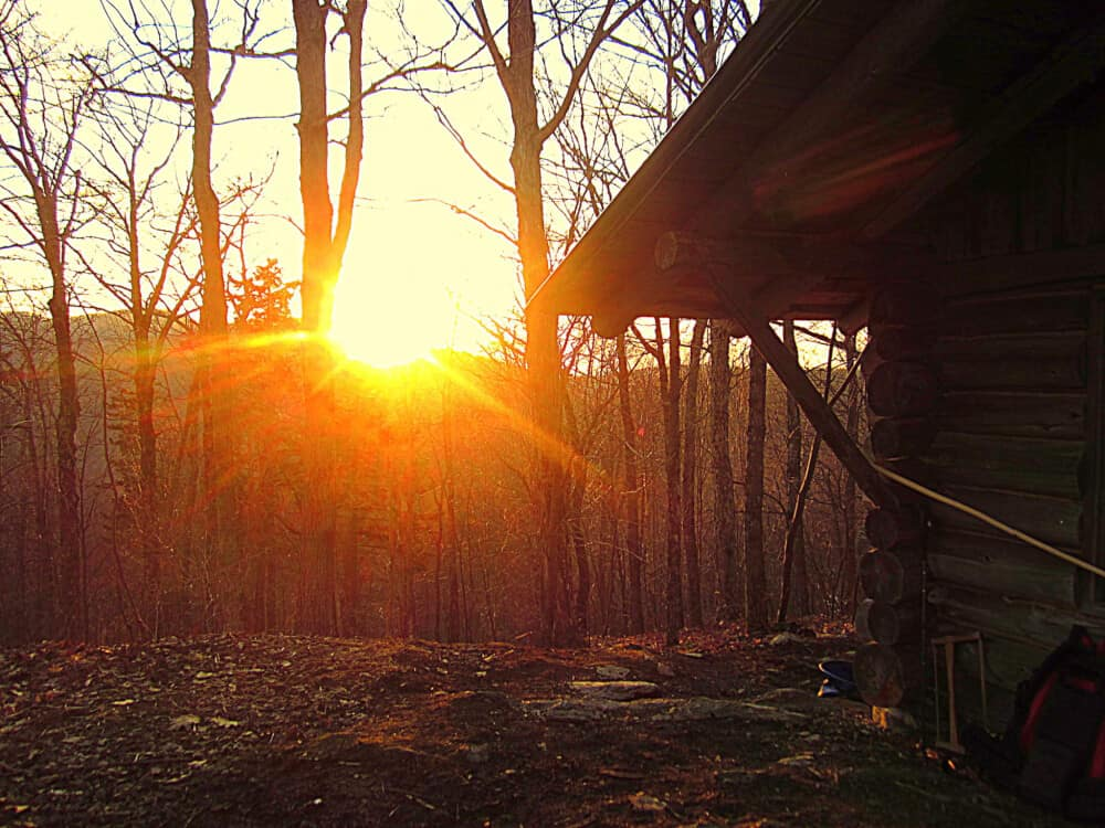 Destination Vermont: Merck Forest Cabin Camping