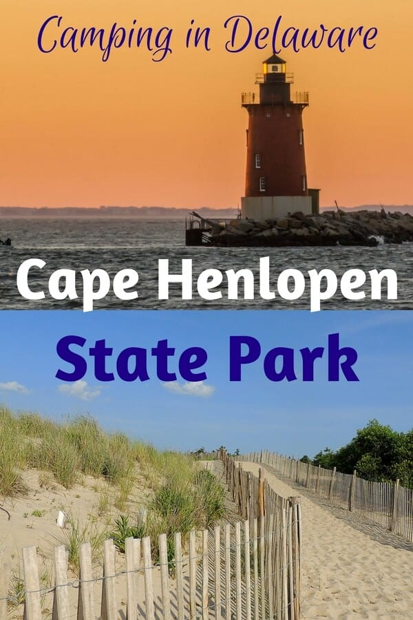Family Camping In Cape Henlopen State Park