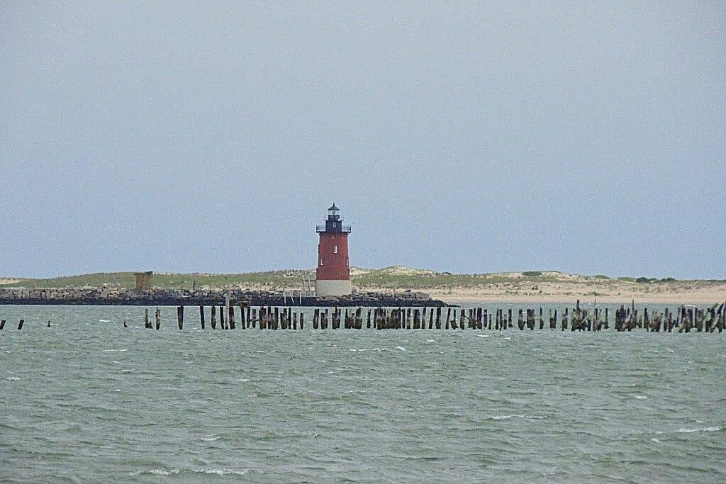 The Cape Henlopen Lighthouse
