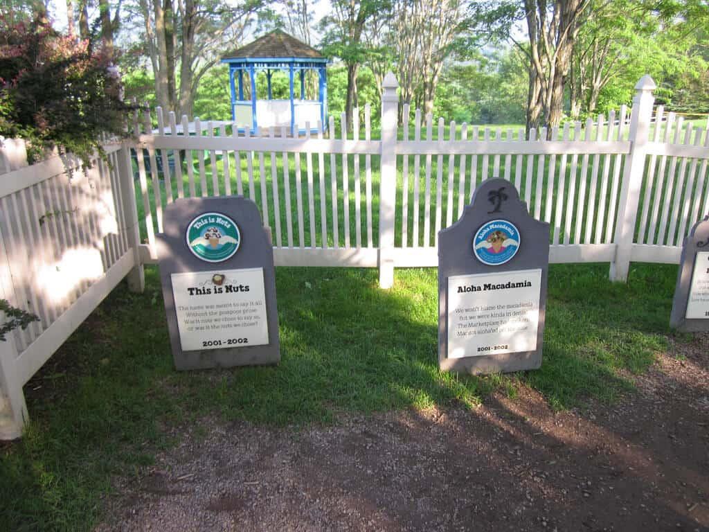 Ben & Jerry's Flavor Graveyard by Doug Kerr Autumn in Vermont