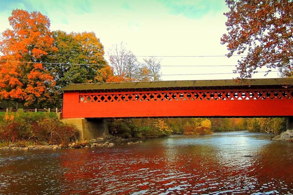 Henry Bridge, North Bennington, Vermont