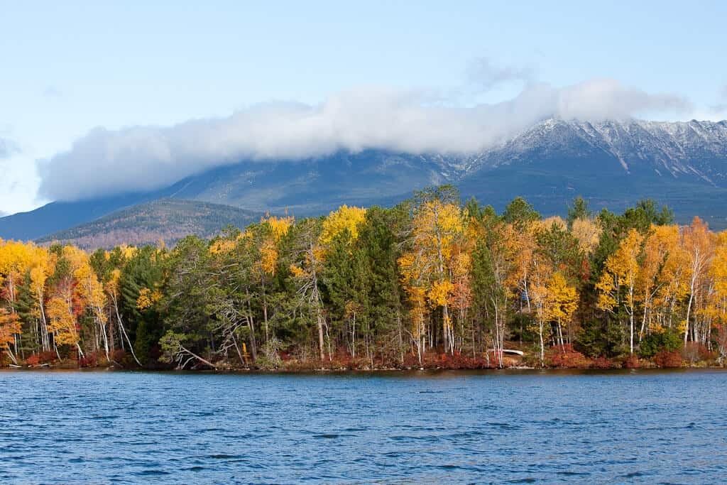 Baxter State Park has year-round camping opportunities.