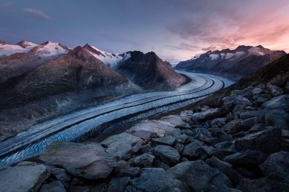 Winter Road Trip - snowy scene