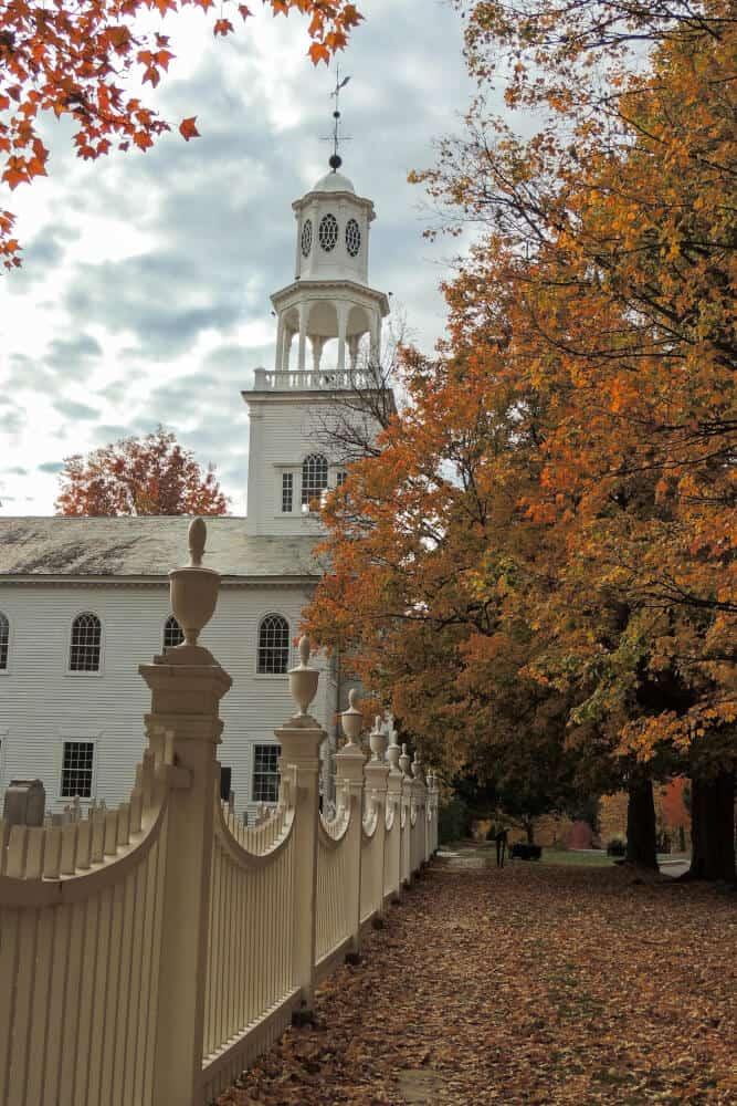The Old First Church in Bennington, Vermont