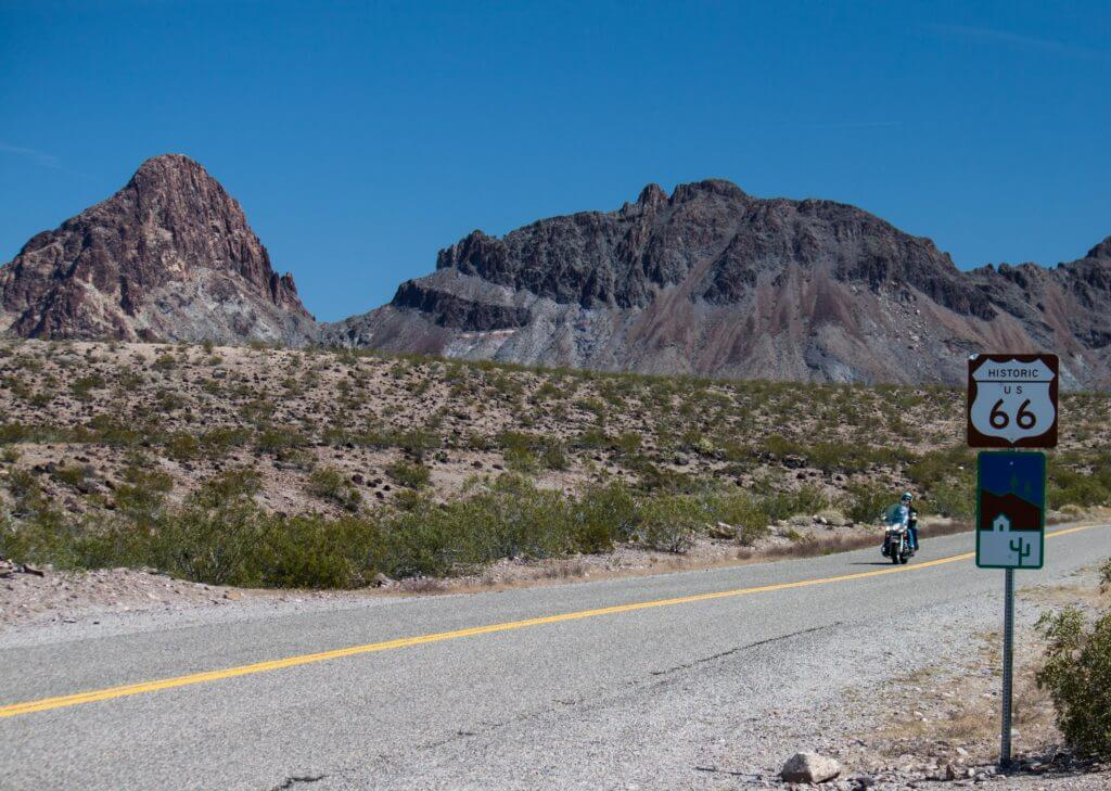 Historic Route 66 near Oatman AZ