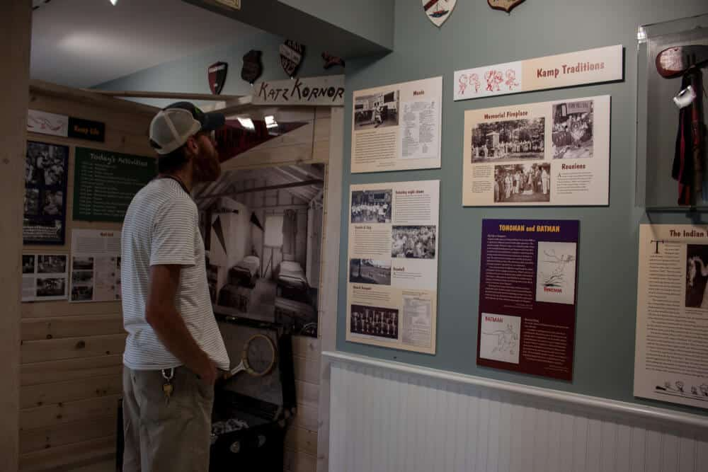 The Rocky Point House Museum at Kamp Kill Kare State Park.