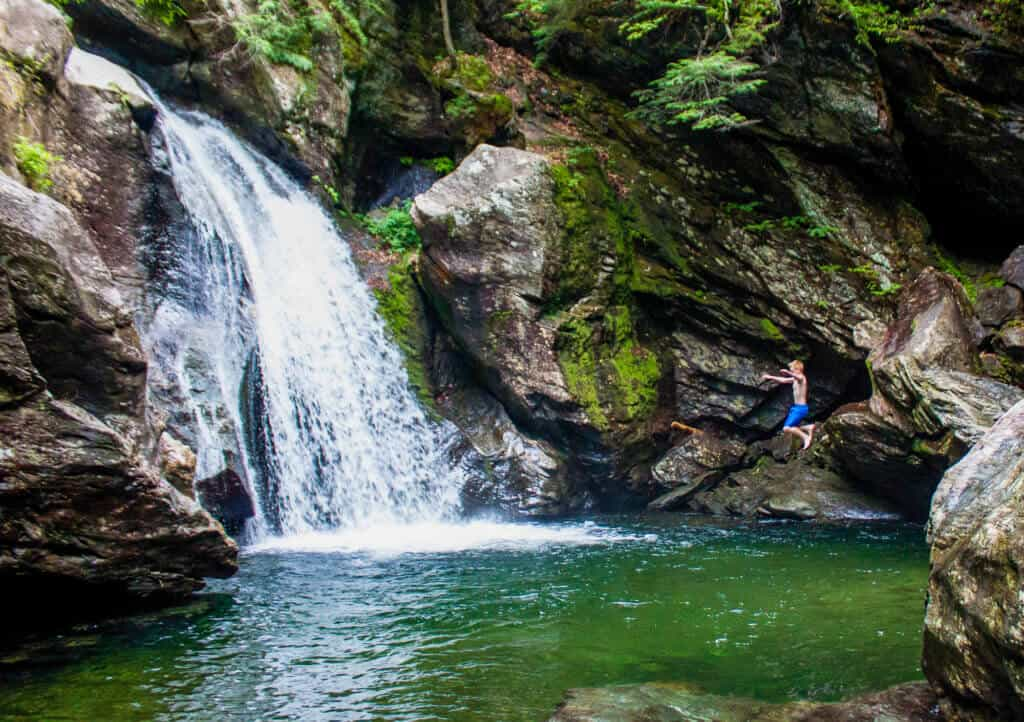 hiking trails Stowe, VT