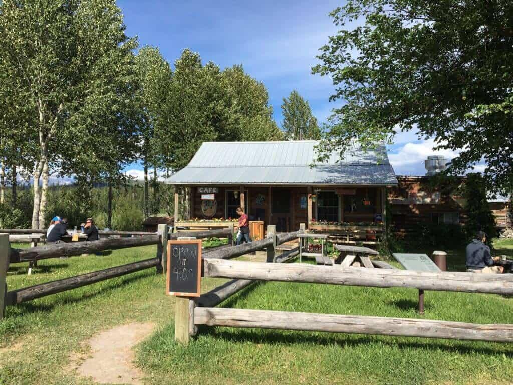 Northern Lights Saloon Glacier National Park