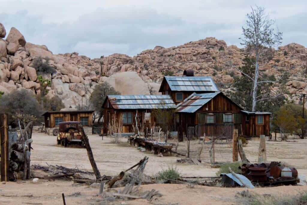The Keys Ranch Homestead in Joshua Tree National Park
