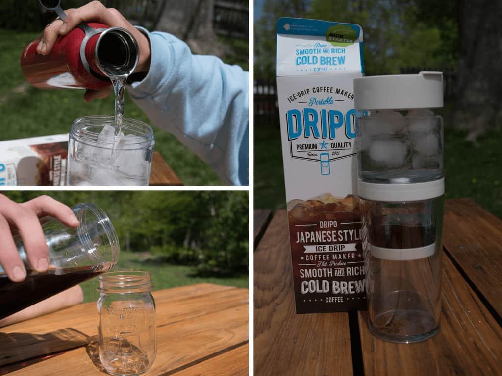 The Dripo cold-brew coffee maker
