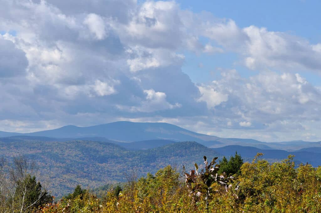 A view of Stratton Mountain from the summit of Putney Mountain / photo credit: Putneypics