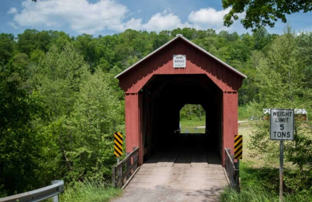 Hune Covered Bridge - Marietta Ohio