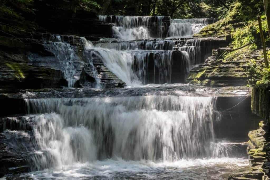 Buttermilk Falls in Buttermilk Falls State Park