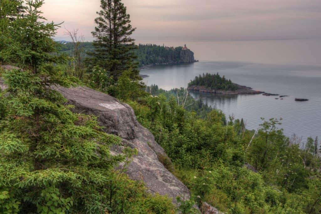 Splitrock Lightouse on Lake Superior.