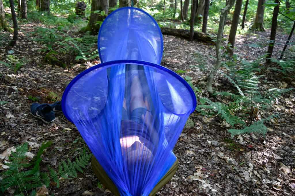 FiveJoy Pop up Mosquito Net Hammock