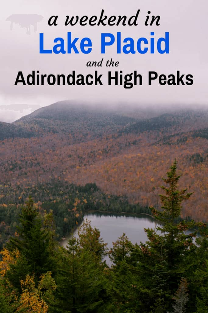 Lake Placid and the Adirondack High Peaks make the perfect destination for a weekend getaway. #hiking #Adirondacks