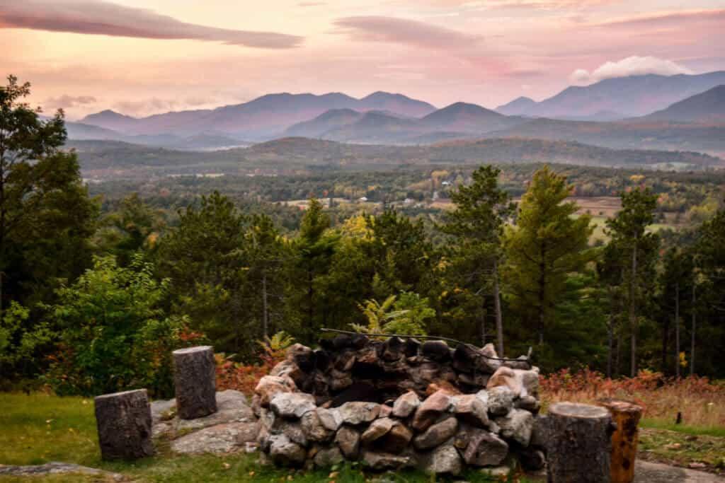 Adirondack Star Ridge Firepit