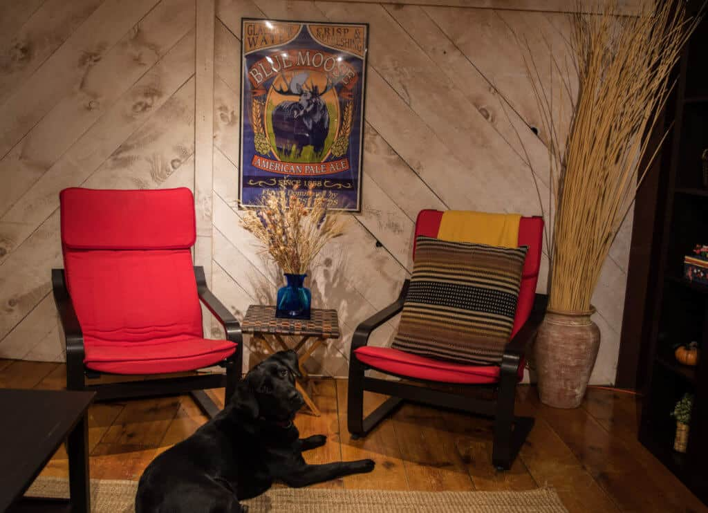 Southern Vermont Vacation Rental - media room