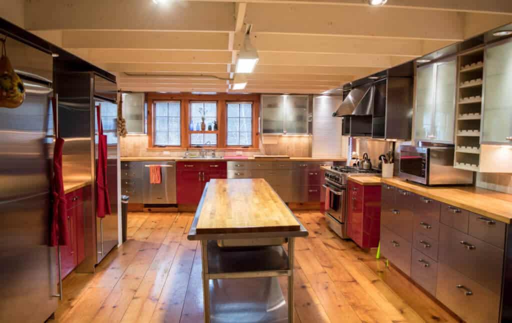 Southern Vermont Vacation Rental kitchen