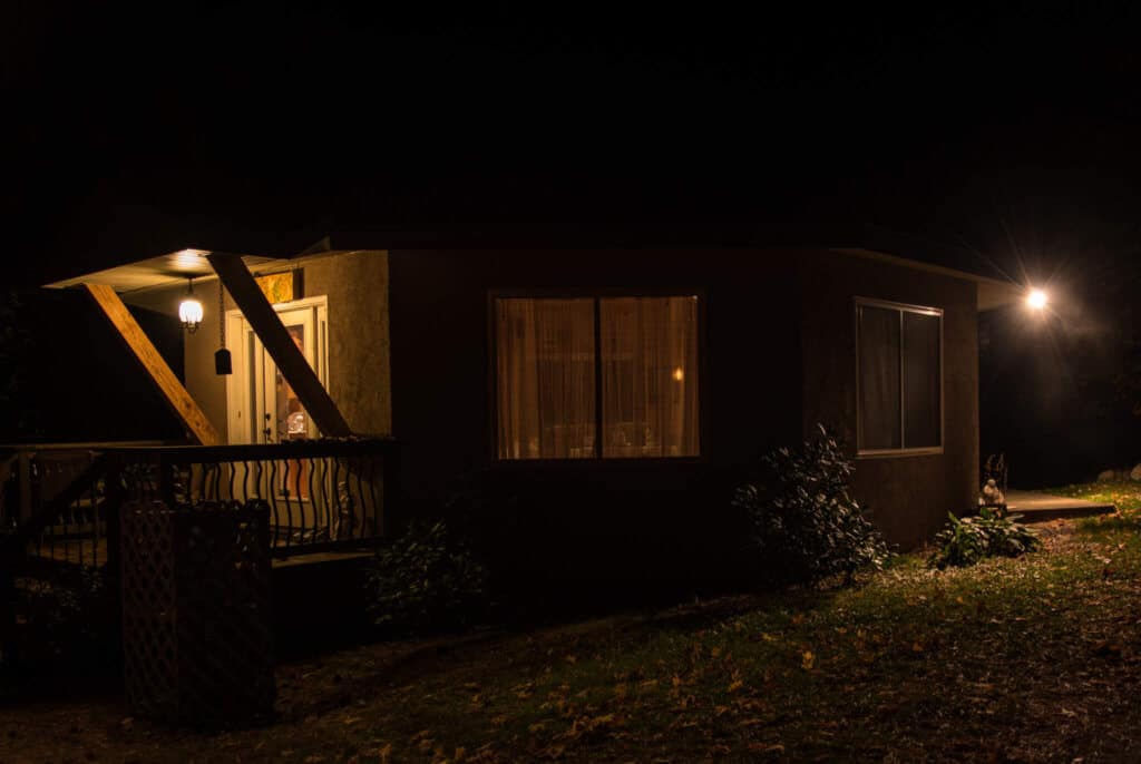 Night view - Star Ridge Studio
