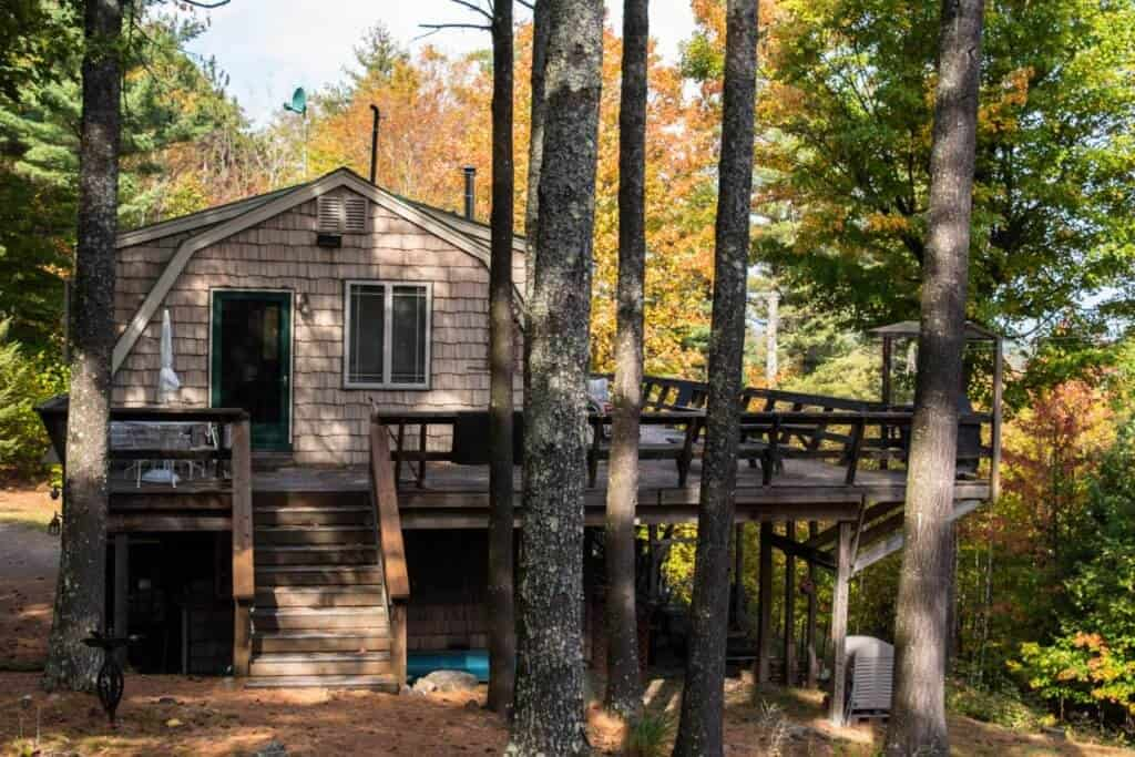 Adirondack cottage vacation rental