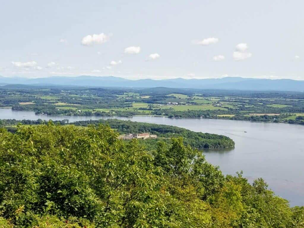 a lake in Adirondack Park