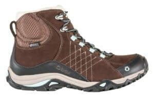 A hiking boot from Oboz Footwear