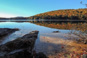 Secret Vermont Treasures: Fall Camping on Grout Pond