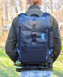 A close-up of the Xpedition Camera Bag from Bagsmart