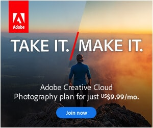 Adobe Creative Cloud banner ad