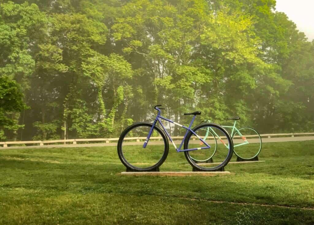Big Ol' Bikes on Mill Mountain in Roanoke.