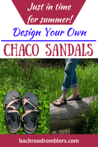 A photo of Chaco sandals.