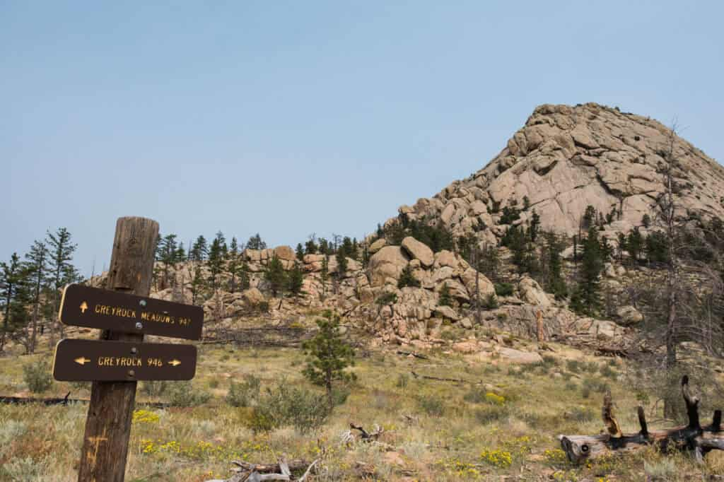 Greylock Trail in Poudre Canyon