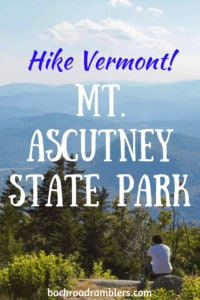A far-reaching view from the summit of Mt. Ascutney in Vermont