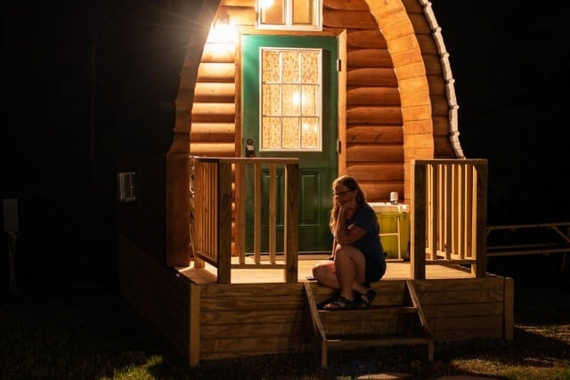 tiny cabins for rent in Explore Park, Roanoke, VA