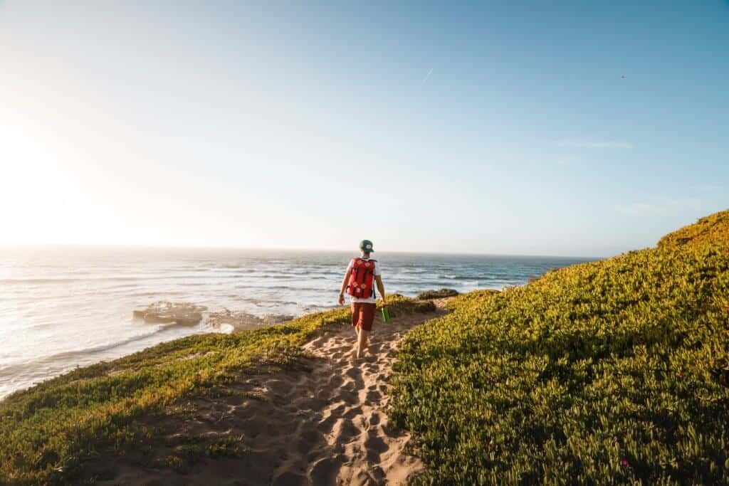 Hiking in Montana de Oro State Park. Photo credit: Jeremy Bishop