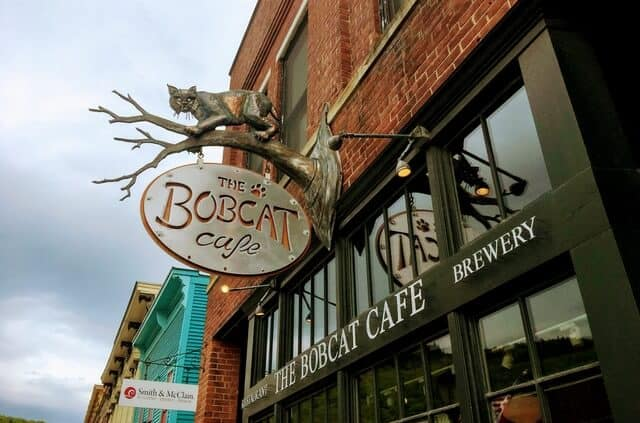 The Bobcat Cafe in Bristol, Vermont