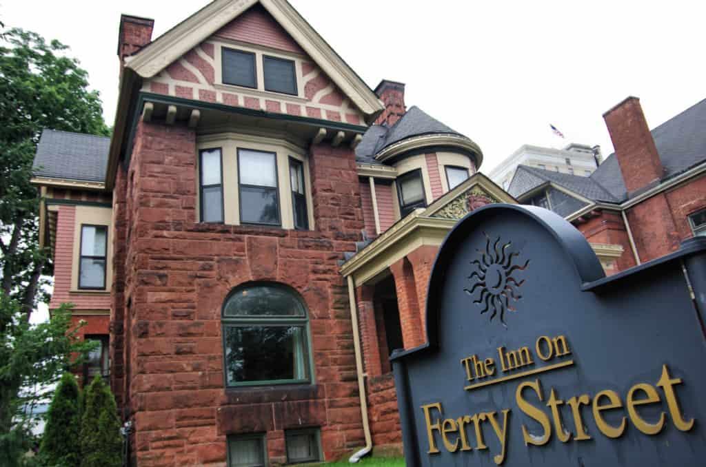 The Inn on Ferry Street in Detroit, Michigan.