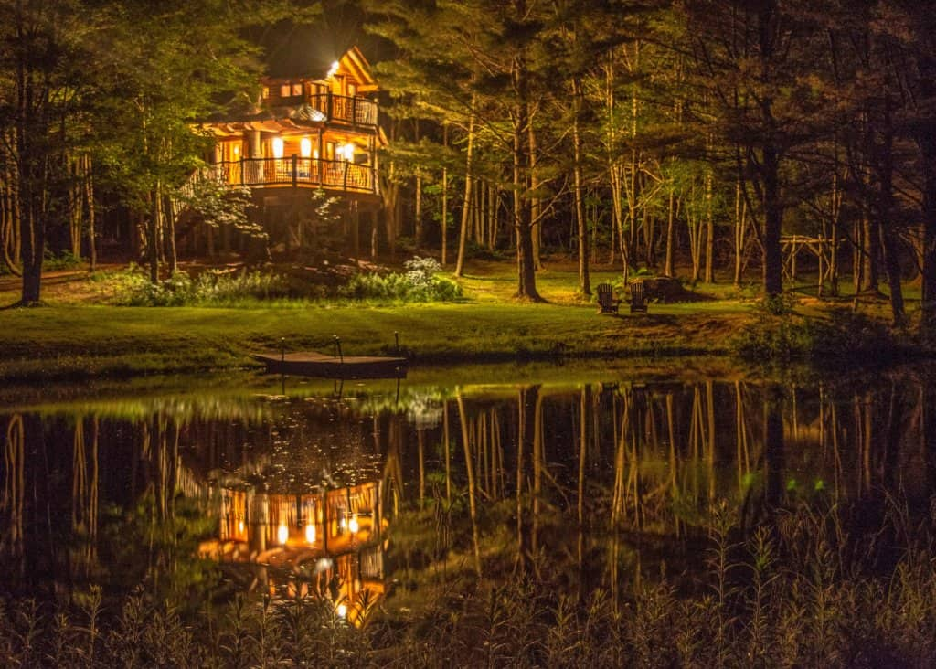 Moose Meadow Lodge and Treehouse in Vermont