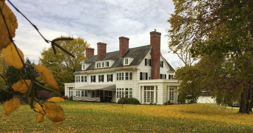 The Four Chimneys Inn in Bennington Vermont.