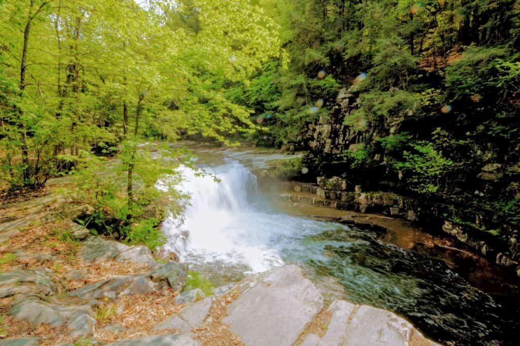 Bartlett Falls in Bristol, Vermont