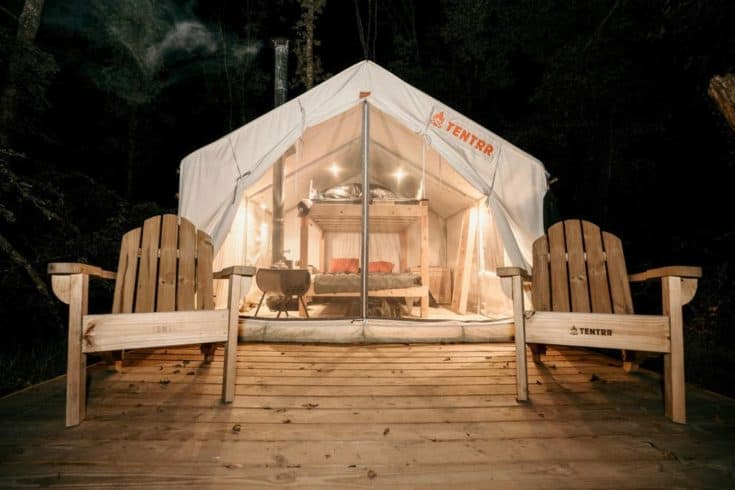 Tentrr Glamping Nook in the Berkshires