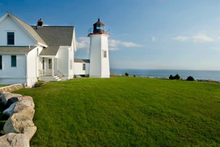 Wings Neck Lighthouse in Pocasset, Massachusetts