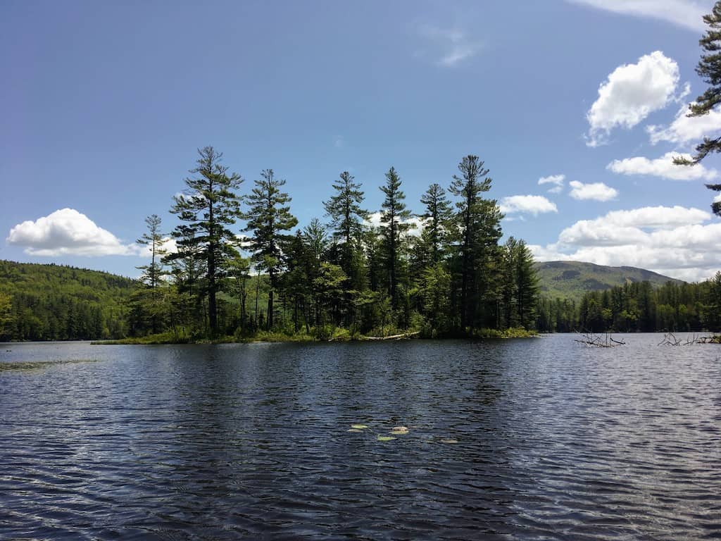 Lowell Lake in Londonderry, Vermont