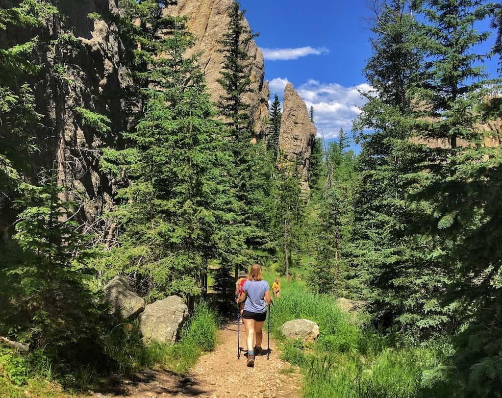 Hiking the Sunday Gulch Trail in Custer State Park, South Dakota