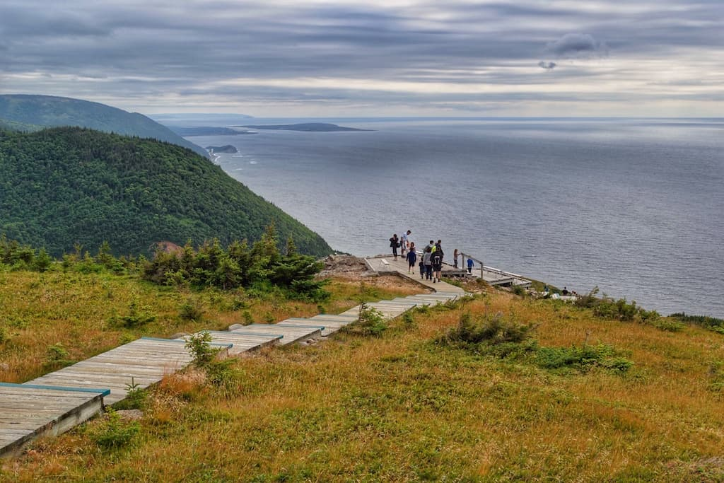 The headlands on the Skyline Trail - Cape Breton, Nova Scotia