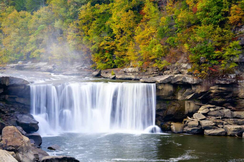 Cumberland Falls in Tennessee