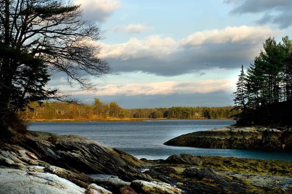 Wolfe's Neck Beach Maine
