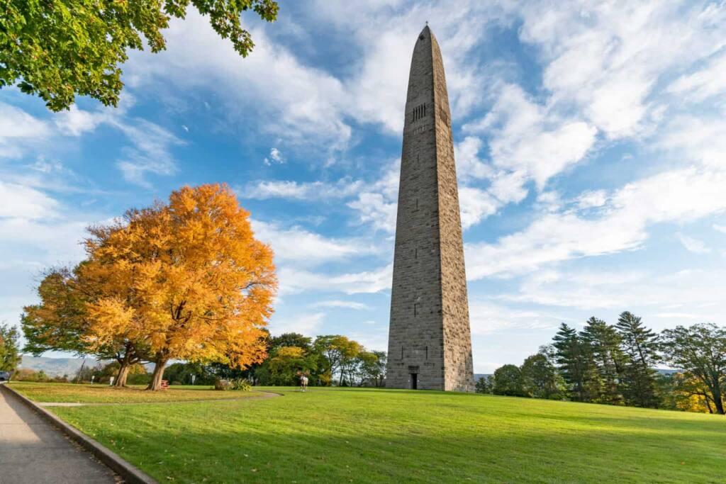The Bennington Battle Monument in Bennington, VT